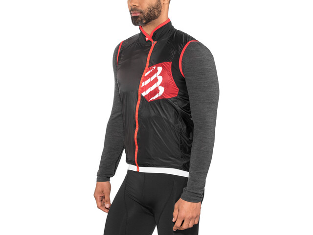 Compressport Cycling Hurricane Windprotect Vest black